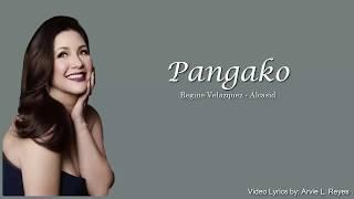 Pangako Lyrics Regine Velazquez