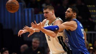 Nikola Jokic 29 Points 18 Rebounds 7 Assists vs Mavs! 2017-18 Season