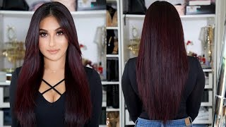 MY CURRENT HAIR CARE ROUTINE 2017 | BEAUTYYBIRD
