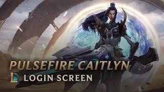 Pulsefire Caitlyn | Login Screen - League of Legends