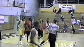 Allen Iverson High School AAU Highlights - Iverson dominates AAU basketball game