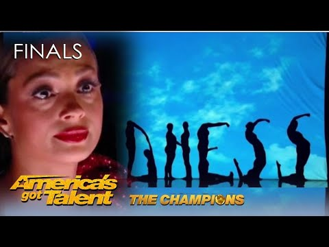 Silhouettes Shadow Dance Has Alesha Dixon in TEARS with Homeless Story AGT Champions 2020