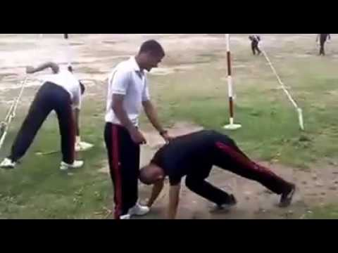 INDIAN ARMY CAMP VIDEO LEAKED PUNISHED BYCAMP TECHER
