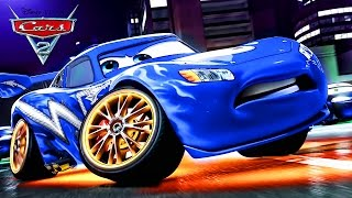 Cars 2 HD Portugal ( Brazil ) Disney Pixar Lightning McQueen - Mater Gameplay