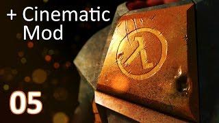 Half-Life 2 ⠞⠳ (+ Cinematic Mod) - Part 05: Der Ernst des Lebens ⠞⠳ Gameplay deutsch [@ 1080p 60FPS]