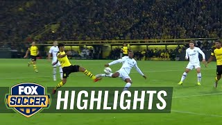Sebastien Haller nets equalizer against Borussia Dortmund | 2018-19 Bundesliga Highlights