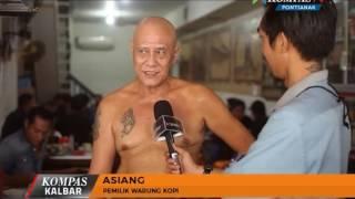 Asiang, Peracik Kopi yang Senang Bertelanjang Dada