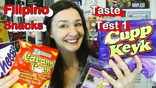 Filipino Taste Test 1