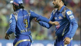 Fight Between Harbhajan And Rayudu | IPL T20 2016 | MI Vs RPS