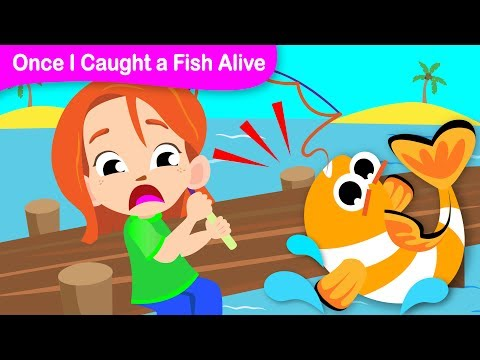 Xxx Mp4 12345 Once I Caught A Fish Alive Fun Kids Songs Classic Nursery Rhymes By Little Angel 3gp Sex
