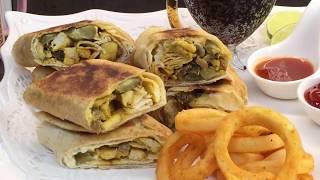 صدر دجاج بلفطر سهل تحضير جربو , اكلات عراقيه ام زين  IRAQI FOOD OM ZEIN