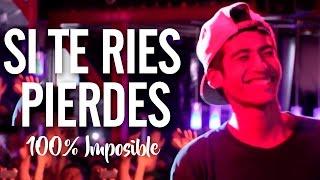 SI TE RIES PIERDES (100% IMPOSIBLE) | Batallas De Gallos - Rap
