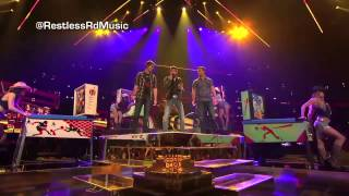 Restless Road Footloose THE X FACTOR USA 2013