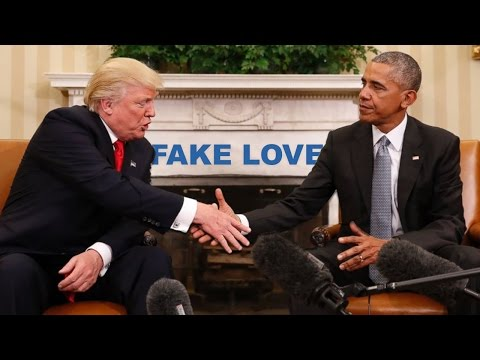 Download Fake Love - Drake (The Obama Parody)