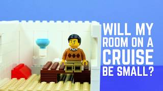 Cruise Myth #1 - Will my room on a cruise be small?