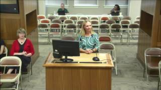 The August 9th, 2017 meeting of the Kansas State Board of Education