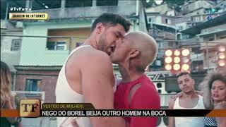 Nego do Borel beija homem em clipe de funk e é comparado com Lacraia