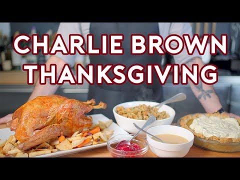 Binging with Babish A Charlie Brown Thanksgiving