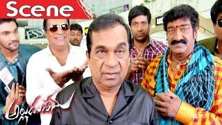 Alludu Seenu And Brahmanadam Blackmails Ravi Babu - Full Comedy - Alludu Seenu Movie Scenes