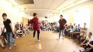 Kira vs. Mia Vad | Exhibition Battle | Aarhus Hip Hop Performance