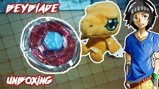 Unboxing Beyblade Aquario (rapidity)
