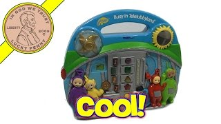 Teletubbies Busy In Teletubbyland Activity Center, 1999 Tiger Electronics