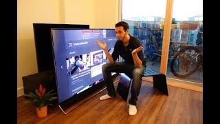 """Hisense U9A (75U9A) review - A cheap 75"""" 4K HDR TV - By TotallydubbedHD"""