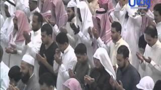 دعاء ختم القران الكريم للشيخ محمد المحيسني بجامع عائشة الراجحي بمكة  ليلة 27 رمضان لعام 1436هـ