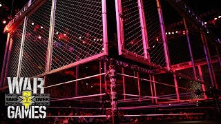 The cage is lowered for NXT