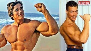 TRAINING Jean Claude Van Damme & Arnold Schwarzenegger ENTRENANDO Workout ANTES DESPUES TRIBUTO JCVD