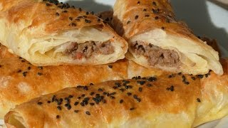 Borek Rolls with Ground Beef – Turkish Spring Rolls Recipe