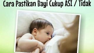 Tanda dan Pentingnya Bayi Cukup ASI  - Tips Ibu Hamil dan Menyusui