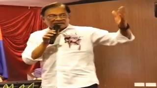 Anwar Ibrahim: Agenda Kaum Tak Akan Berjaya, Agenda Kaum Akhirnya Angkat Kroni Di Kalangan Kaumnya