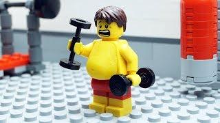 Lego Gym Fail - Body Building