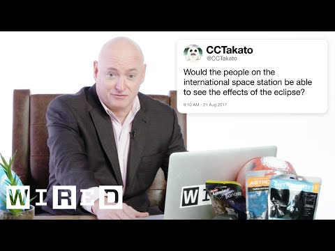 Astronaut Answers Space Questions From Twitter Tech Support WIRED