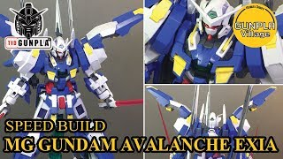 [SPEED BUILD] MG 1/100 GUNDAM AVALANCHE EXIA limited By Tid-Gunpla