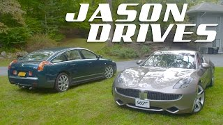 What It's Like To Drive The Two Weirdest Luxury Cars In America Right Now   Jason Drives