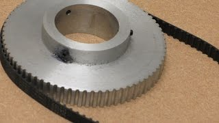 Metal Casting at Home Part 64. Casting and Machining a Toothed Pulley.