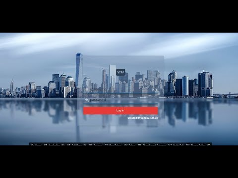 Customize LOGIN PAGE Using css! Oracle Apex