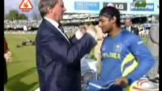 Punjaagi Totay  World T20 - Sangakkara with Sri Lankan Team.flv