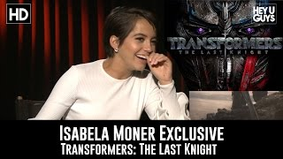 Isabela Moner on scones and Transformers: The Last Knight