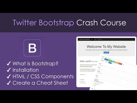 Bootstrap Beginner Crash Course