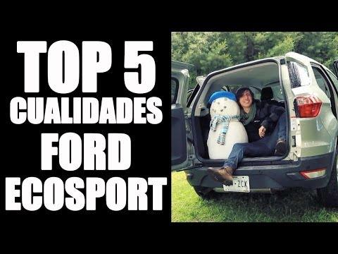 Top 5 cualidades de la Ford EcoSport
