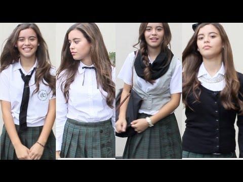 Cómo accesorizar tu uniforme de colegio