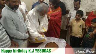 KJ Yesudas birthday celebration 2018