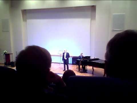 Laulu Ristilukista Kangasniemi-Sali J.Repo ja J.Mattila  J.Sibelius