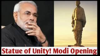 #Statue of Unity! Opening Narenda Modi: Modi performs