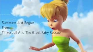 Tinkerbell Summers Just Begun (Lyric Video)