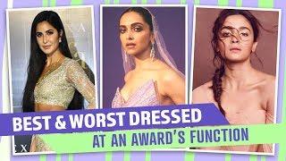 Alia Bhatt, Deepika Padukone, Katrina Kaif: Best & Worst dressed at an awards function 2019  Fashion