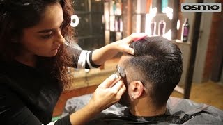 The Side Part, Indian Men's dapper hairstyle, Haircut by Ace hairstylist Rashi Herani